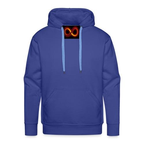 Símbolo del infinito refleja tu equilibrio - Sudadera con capucha premium para hombre