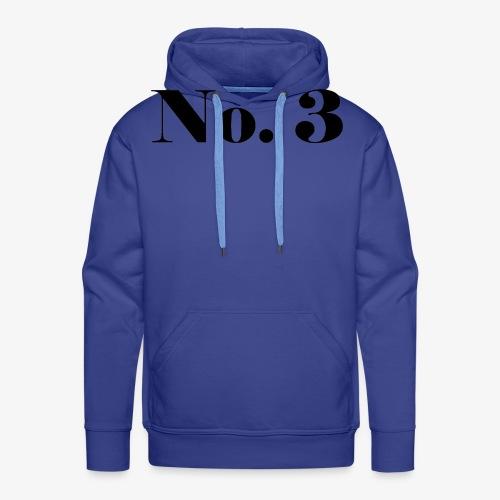 003 - No. 3 - Männer Premium Hoodie