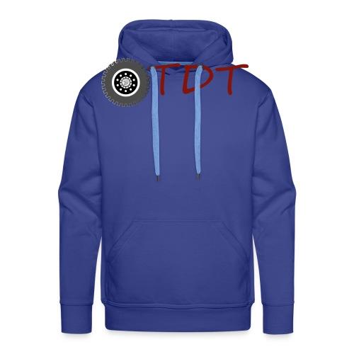 OtdtOfficiel - Sweat-shirt à capuche Premium pour hommes