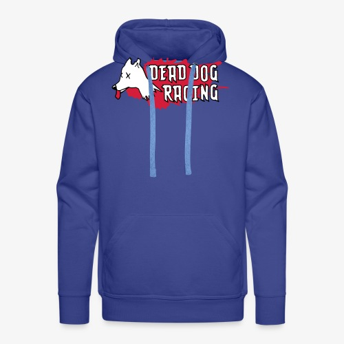Dead dog racing logo - Men's Premium Hoodie