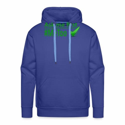 askmefirst logo - Men's Premium Hoodie