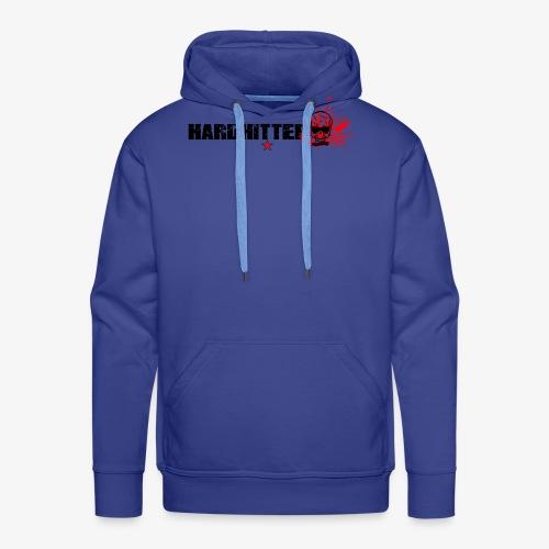 Hardhitter Logo für hellen hintergrund - Männer Premium Hoodie