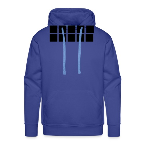 Black Quadrat - Männer Premium Hoodie