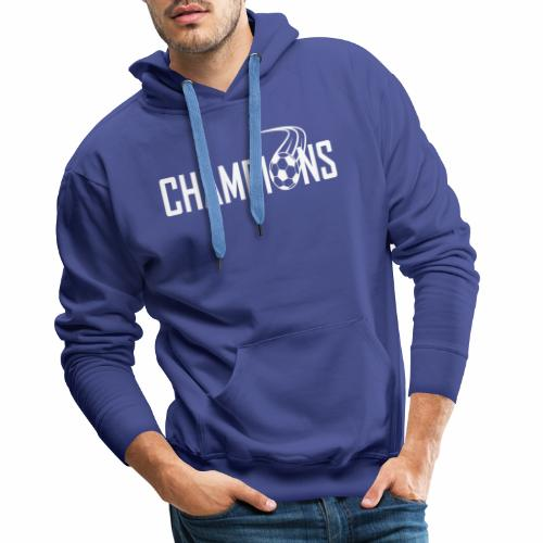 Champions Fussball Logo - Männer Premium Hoodie
