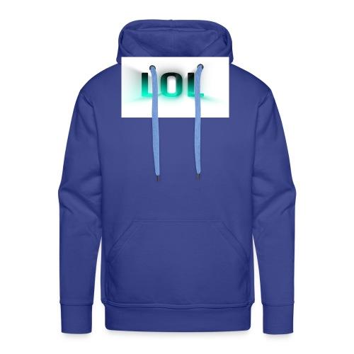 LOL Box Logo Schein Effekt - Männer Premium Hoodie