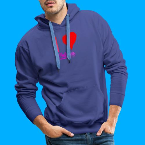 I Heart Potato T-Shirts - Men's Premium Hoodie