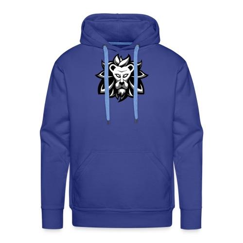 Jerano black and white - Mannen Premium hoodie