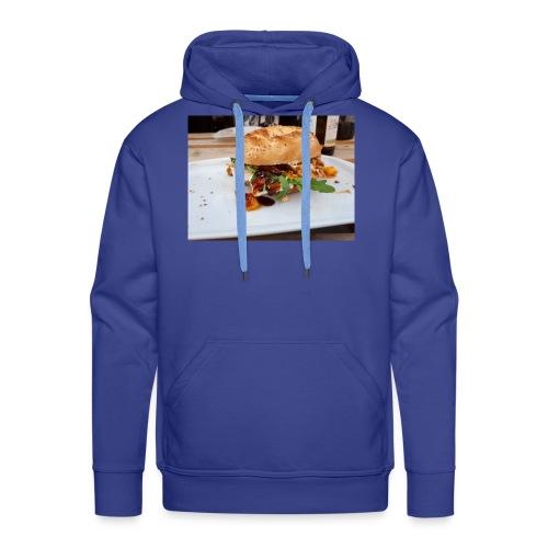 Bagel Chicken Burger - Männer Premium Hoodie