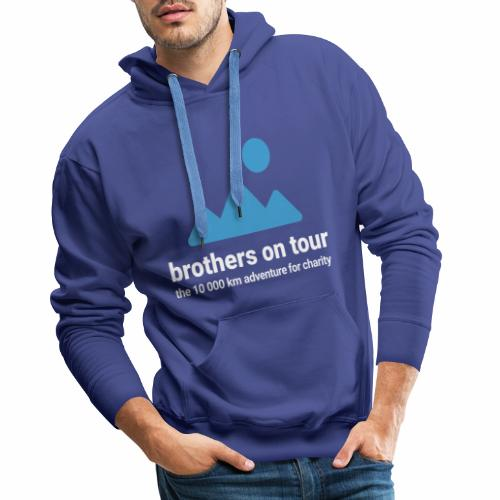 Brothers on Tour - Logo 1 - Männer Premium Hoodie