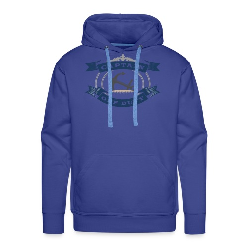 Captain Off Duty - Captain out of service - Men's Premium Hoodie