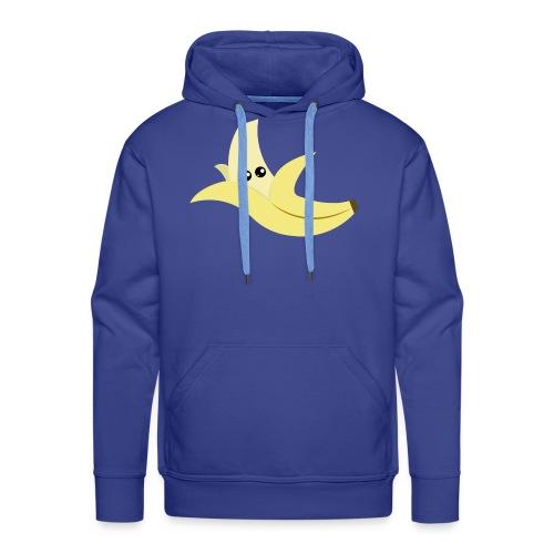 Shy Banana - Sweat-shirt à capuche Premium pour hommes