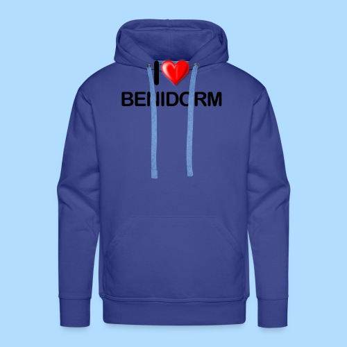 I love benidorm - Men's Premium Hoodie