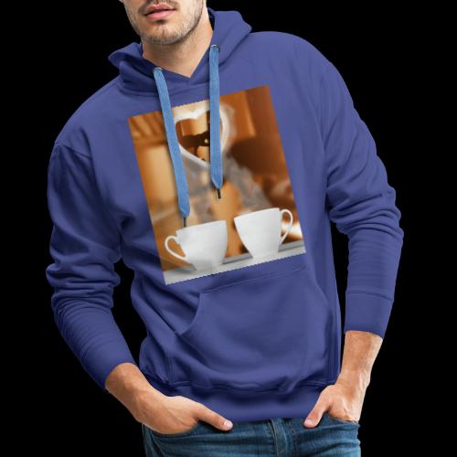 sticallbats coffee for two - Men's Premium Hoodie