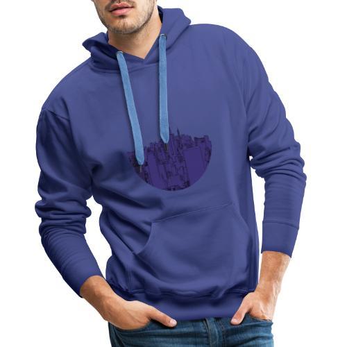 New York by Nights - Sweat-shirt à capuche Premium pour hommes