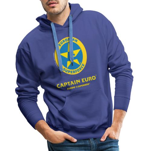 SÍMBOLO DEL SUPERFORCE EUROPEO (ESF) - Sudadera con capucha premium para hombre