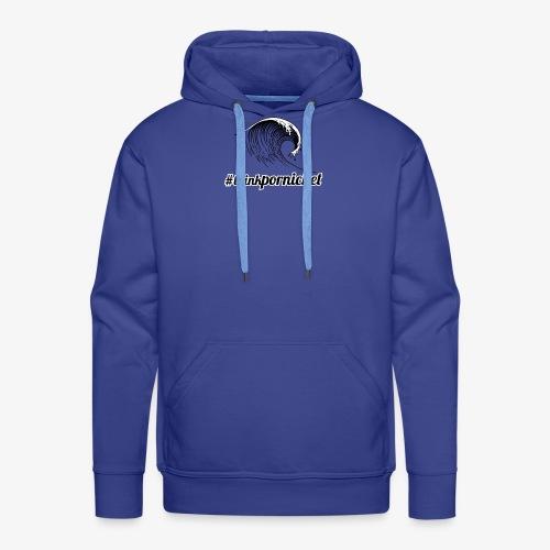 Vague Wave Thinkpornichet by DesignTouch - Sweat-shirt à capuche Premium pour hommes
