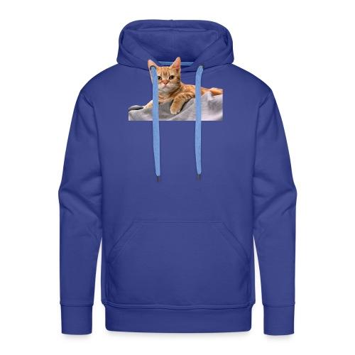 Cuddly Cute Kitty Cat - Men's Premium Hoodie