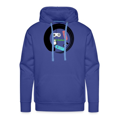 G Games Logo New - Men's Premium Hoodie