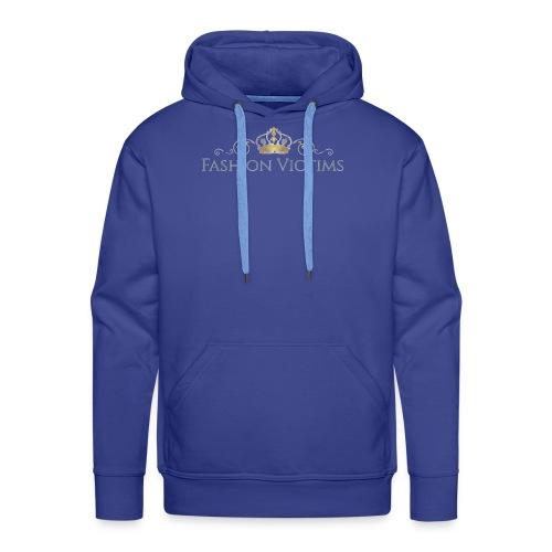Official Fashion Victims Logo Gold/Silver - Mannen Premium hoodie