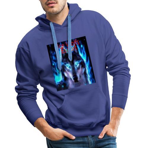 Ice Wolfs Esport Merch - Herre Premium hættetrøje