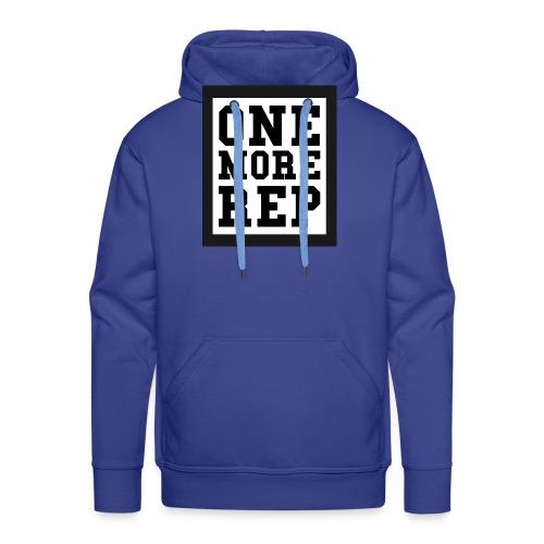 ONE MORE REP - Männer Premium Hoodie
