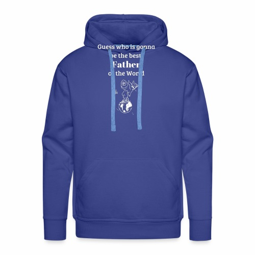 Father's day gift new dads - Men's Premium Hoodie