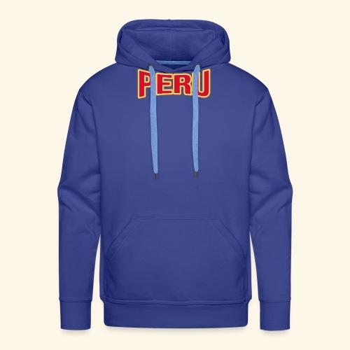 Peru - Fanartikel - Sportfans T-shirt - Männer Premium Hoodie
