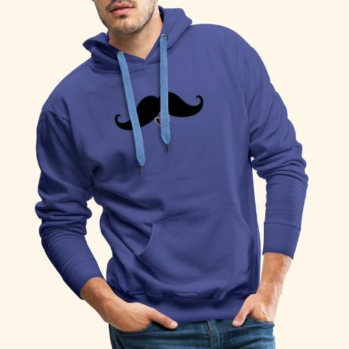Fresh Moustache - Männer Premium Hoodie