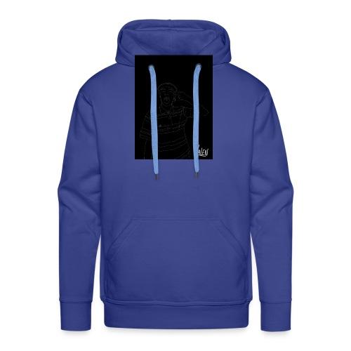 BlancoYnegro - Sudadera con capucha premium para hombre