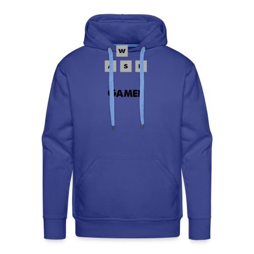 W, A, S, D Gamer - Men's Premium Hoodie
