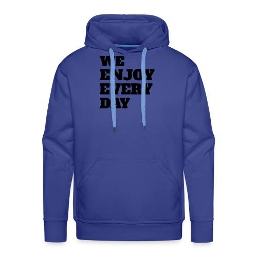 Enjoy - Sweat-shirt à capuche Premium pour hommes