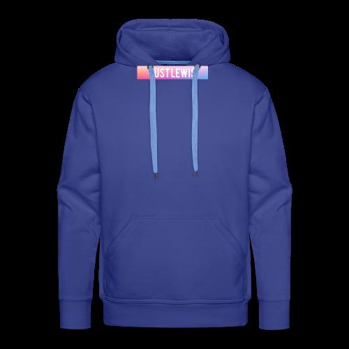 Just Lewis Box Logo - Men's Premium Hoodie