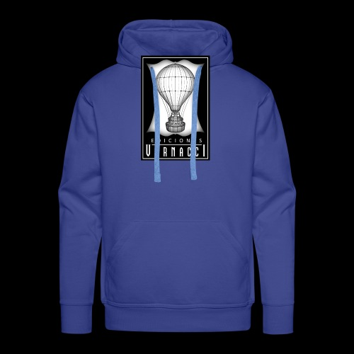 logotipo de ediciones Vernacci - Sudadera con capucha premium para hombre
