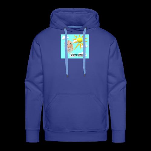 BlueSkyMomioWeekend - Mannen Premium hoodie