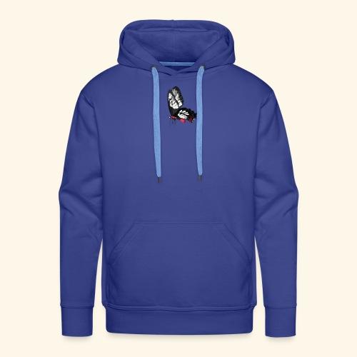 Sommerfugl - Herre Premium hættetrøje