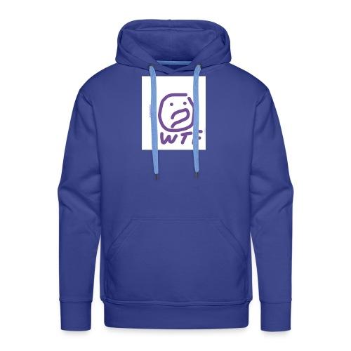 WTF by niyamike - Sweat-shirt à capuche Premium pour hommes