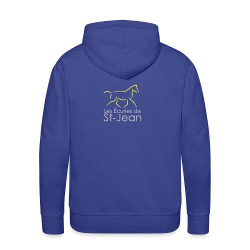Ecuries de St Jean - Sweat-shirt à capuche Premium pour hommes