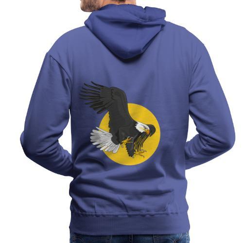 american eagle sun - Mannen Premium hoodie
