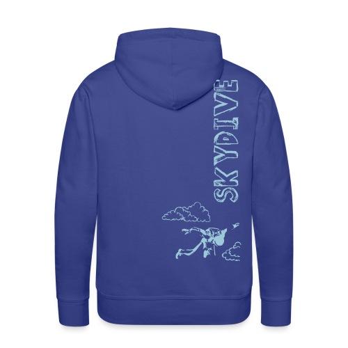 Skydive Sketchbook - Männer Premium Hoodie