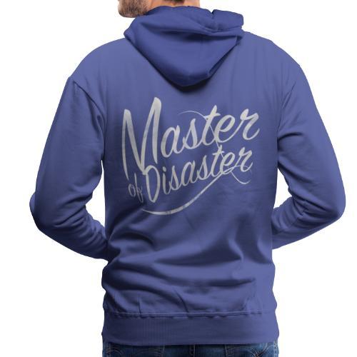 Master of Disaster - Felpa con cappuccio premium da uomo