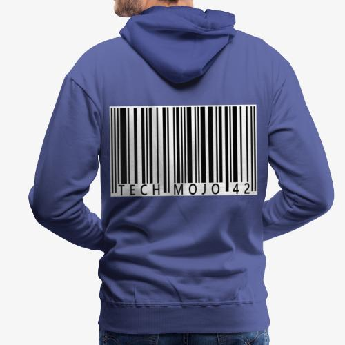 TM graphic Barcode Answer to the universe - Men's Premium Hoodie