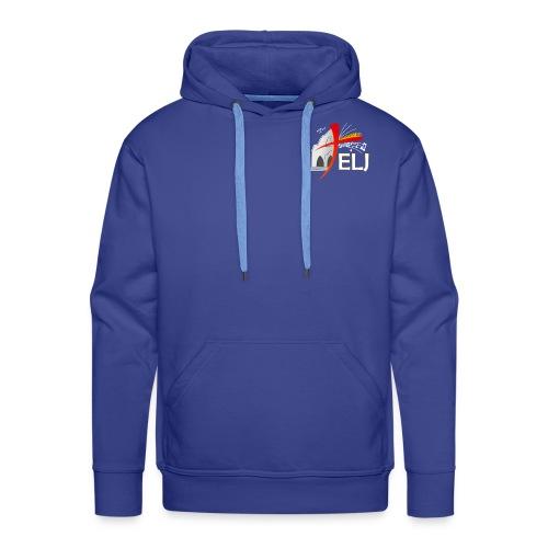elj logo texte png - Sweat-shirt à capuche Premium pour hommes