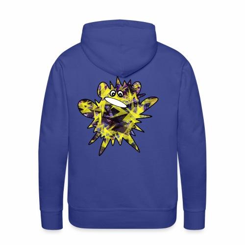 Monsterchen Blitz gelb - Männer Premium Hoodie