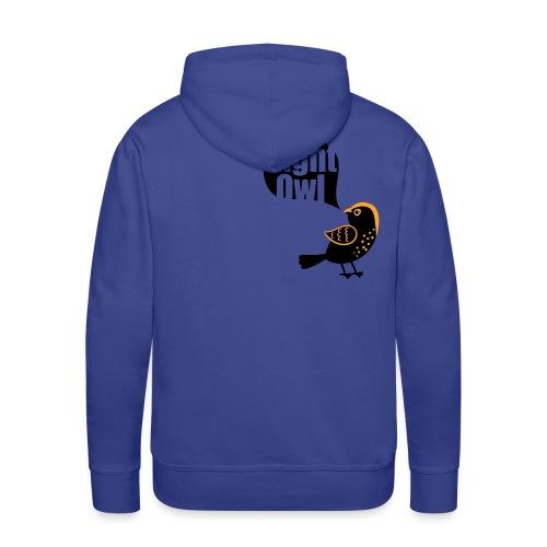 Night Owl - Mannen Premium hoodie