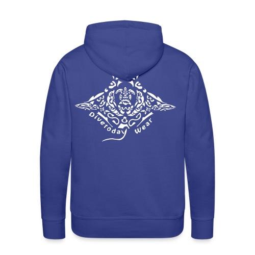 Ray Divetoday.ch - Sweat-shirt à capuche Premium pour hommes
