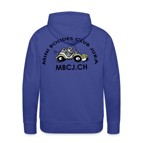 logo MBCJ complet 50cm - Sweat-shirt à capuche Premium pour hommes