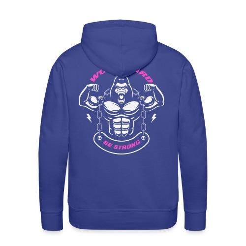 T-shirt et sweat musculation Work hard - Sweat-shirt à capuche Premium pour hommes