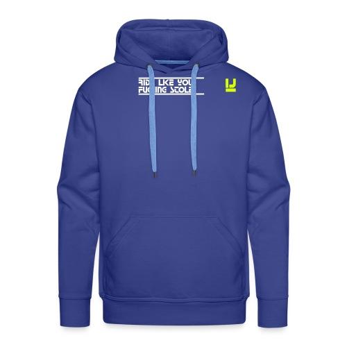 GELB1 - Männer Premium Hoodie