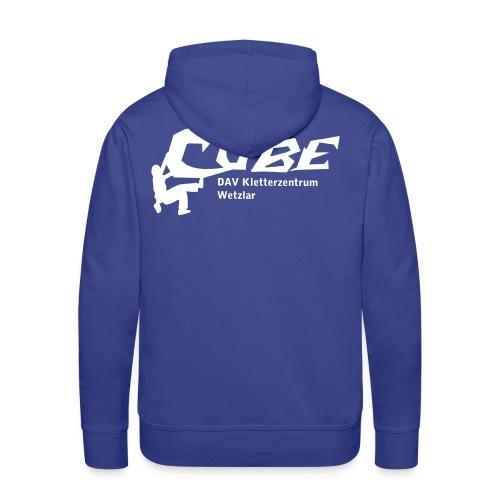 Cube Logo - Männer Premium Hoodie