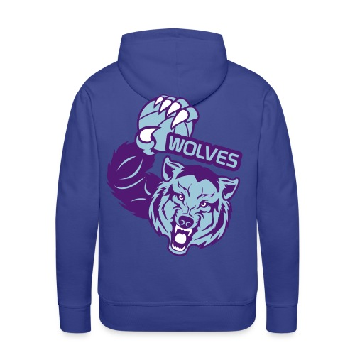 Wolves Basketball - Sweat-shirt à capuche Premium pour hommes